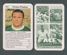 Hungary Ferenc Puskas Real Madrid H1
